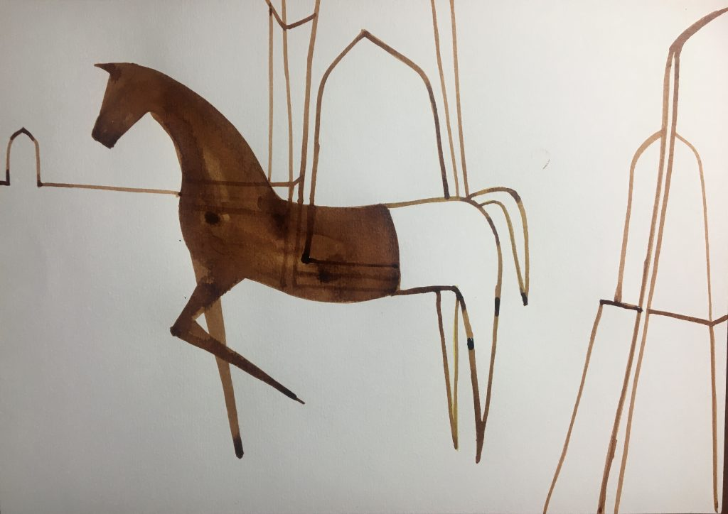 Flowing Equines