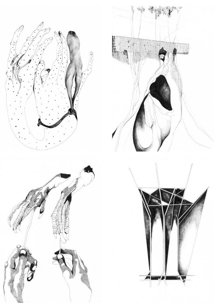 Nina Annabelle Maerkl_Mikroklima Drawings 4_2020